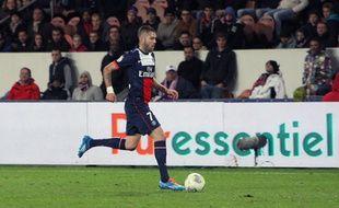 Jérémy Ménez, lors d'un match entre Paris et Nice en novembre 2013.