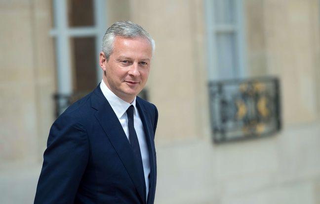 Bruno Le Maire, le 31 mai 2017 à l'Elysée.