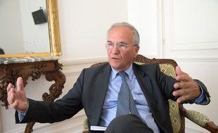 Gilles Carrez, député-maire UMP de Perreux-sur-Marne (Val de Marne) et président de la commission des Finances à l'Assemblée nationale, le 19 juin 2014.