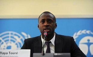 """Le footballeur ivoirien Yaya Touré, """"joueur africain de l'année"""" 2012 et star de Manchester City, s'est élevé mardi à Nairobi contre le massacre des éléphants, estimant que l'existence même de cet animal était menacée."""