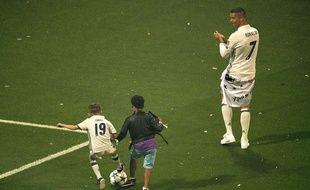 Deux Cristiano Ronaldo pour le prix d'un.