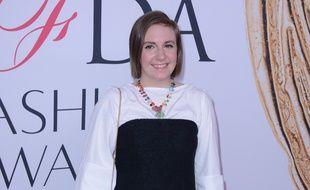 L'actrice et réalisatrice Lena Dunham à New York
