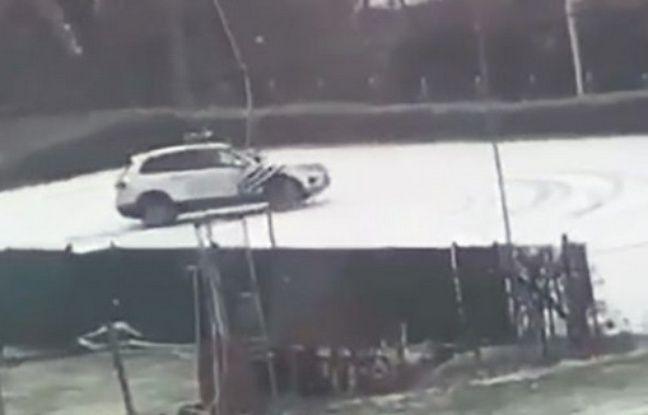 Lille: Quand la police belge dérape...sur la neige