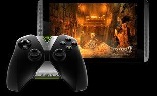 Nvidia a présenté sa tablette Shield le 22 juillet 2014.