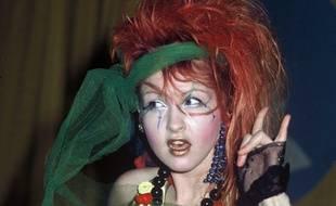La chanteuse Cindy Lauper aux Grammy awards à Hollywood (Etats-Unis) le 28 février 1984