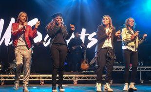 Les All Saints en concert au Camp Bestival 2017