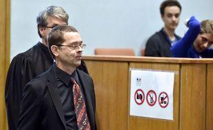 Nicolas Bonnemaison, ex-urgentiste Bayonnais. AFP PHOTO / GEORGES GOBET