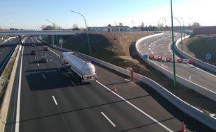 L'échangeur de Borderouge, sur le périphérique Est (A61) de Toulouse, sera mis en service le 14 décembre 2016.