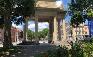 Le monument, classé, a été inauguré en 1928 et n'a plus bougé depuis.