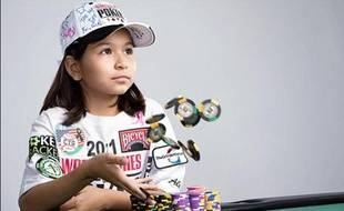 Alexa Fisher, 8 ans, sera-t-elle la nouvelle star du poker mondial?
