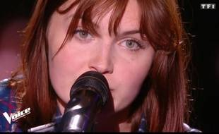 Face au jury de «The Voice», Chloé n'a pas pu retenir ses larmes.