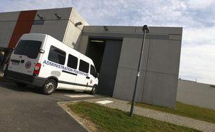 Le centre de détention de Muret, en Haute-Garonne.