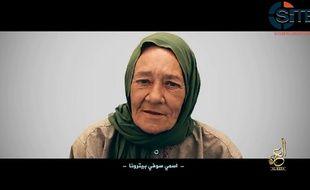 L'otage française Sophie Pétronin, enlevée à Gao auMalile 24 décembre 2016 par un groupe lié à Al-Qaïda.