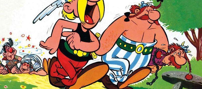 Extrait de « Astérix le Gaulois », publié en 1961
