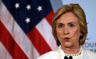 Hillary Clinton, le 19 novembre 2015, à New York