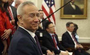 Le vice-Premier ministre chinois, Liu He, à la Maison-Blanche le 11 octobre 2019.