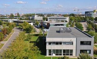 L'Espace européen de l'entreprise à Schiltigheim.