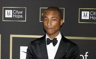 Le chanteur Pharrell Williams au City of Hope Gala
