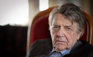Jean-Pierre Mocky chez lui à Paris, le 18 mars 2014