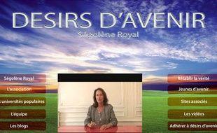 Ségolène Royal a mis en ligne une vidéo sur le site Désirs d'avenir pour clarifier sa position sur les fraudes au congrès de Reims dénoncées dans le livre Hold-uPS, arnaques et trahisons, le 15 septembre 2009.
