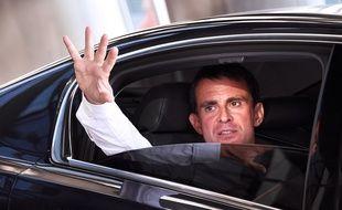 Manuel Valls à Marseille en 2016.