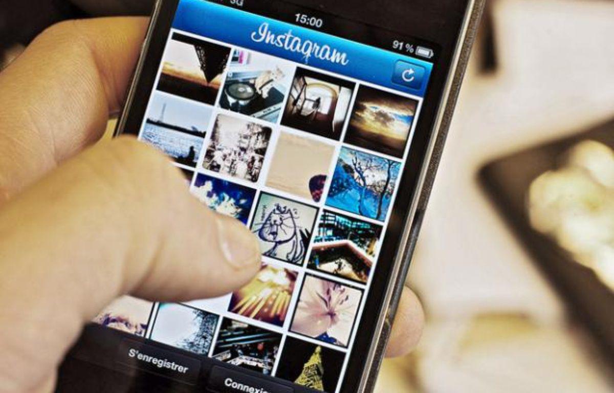 L'appli Instagram pour iPhone – ALEXANDRE GELEBART / 20 MINUTES