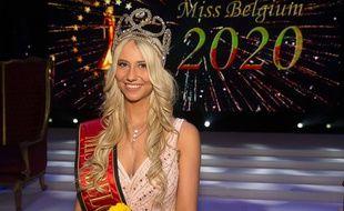 Celine Van Ouytsel, Miss Belgique 2020, le 11 janvier 2020