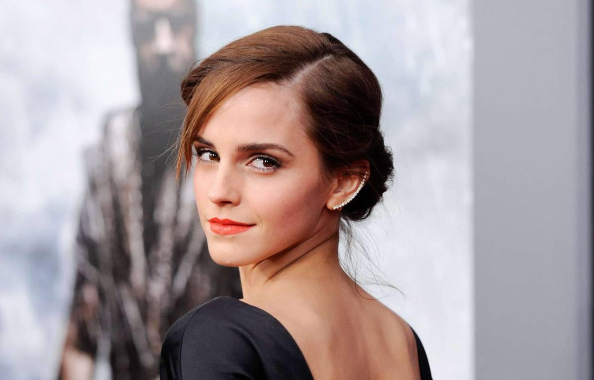 "FILE - This March 26, 2014 file photo shows actress Emma Watson at the premiere of ""Noah,"" in New York. Watson, most known for her role as Hermione Granger in the ""Harry Potter"" franchise, is graduating from Brown University, an Ivy League school in Providence, R.I., on May 25. (Photo by Evan Agostini/Invision/AP, FIle)/NYET344/88518468439/MARCH 26, 2014 FILE PHOTO. 03261417102, 21334631,/1405250910 – Evan Agostini/AP/SIPA"