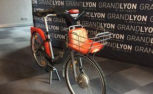 Lyon, le 18 septembre 2017. La métropole de Lyon a dévoilé les futurs Vélo'V qui seront mis en circulation en juin 2018.