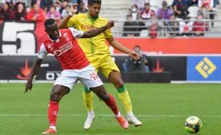 Ludovic Blas a été mis en difficulté par le système de jeu, à Reims.