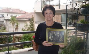 Edith Moskovic, enfant cachée pendant la Seconde Guerre mondiale, en 2013.