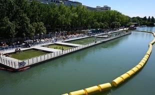 Paris Plages 2020 se déroule sur les bords du Canal de l'Ourcq àParis, notamment (photo d'illustration)