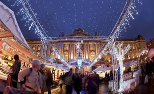 Le marché de Noël de Toulouse.