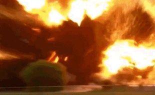 Incendie dans une usine d'engrais dans le Texas