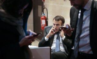 Emmanuel Macron en mars 2015.