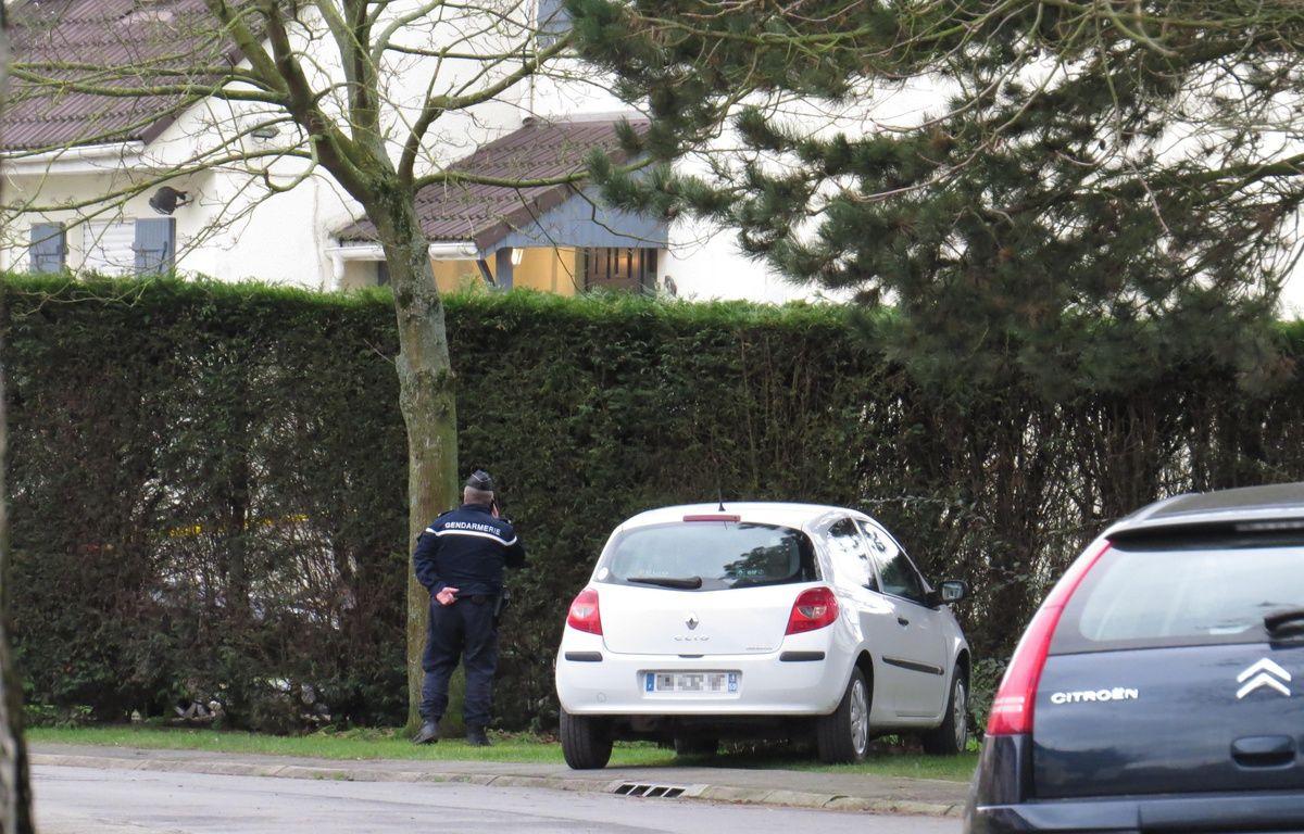La maison où le drame s'est produit, à Ennecourt, hameau de Camphin-en-Carembault. – G. Durand / 20 Minutes