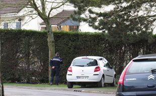 La maison où le drame s'est produit, à Ennecourt, hameau de Camphin-en-Carembault.