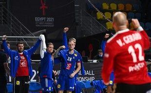 Vinvent Gérard et les Bleus sont qualifiés pour les demi-finales des championnats du monde.