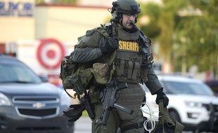 Le SWAT de l'équipe du shérif d'Orlando est intervenu ce 12 juin 2016 sur la fusillade au Pulse.