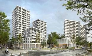 Le futur îlot Blancho-Zamenhof, sur l'île de Nantes, intégrera au moins 13 logements pour l'OFS.