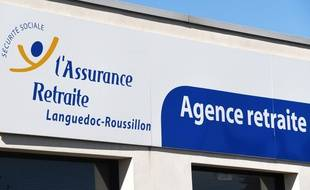 Une agence de l'Assurance retraite dans le sud de la France. (illustration)