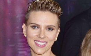 Scarlett Johansson à l'avant-première de Ghost in the Shell à New York