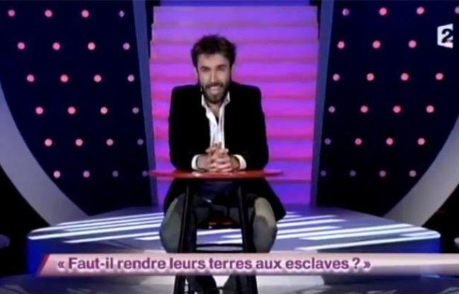 L'humoriste Aymeric Lompret dans l'émission de France 2 «On n'demande qu'à en rire».