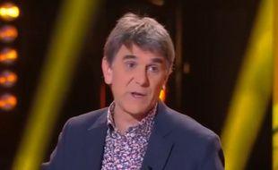 L'animateur Tex avait été évincé de France 2 après une blague douteuse sur les femmes battues.