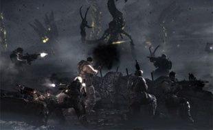 Image issue du premier teaser de Gears of War 3.