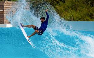 Une vague artificielle dans un «surf park» en Australie.