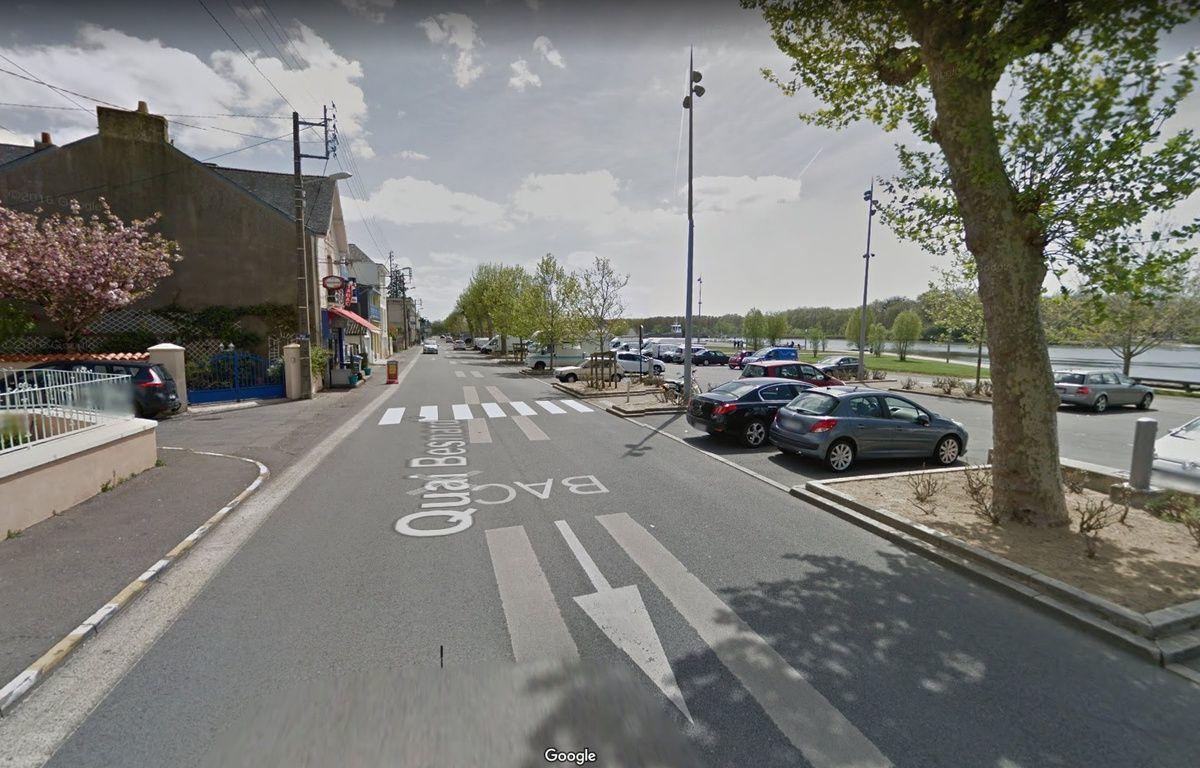 L'accident s'est produit à proximité de l'embarcadère du Bac de Loire, à Basse-Indre. – Google maps