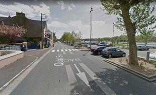 L'accident s'est produit à proximité de l'embarcadère du Bac de Loire, à Basse-Indre.