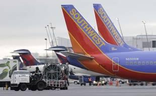Des avions de la compagnie Southwest Airlines (illustration).