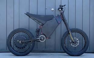 Le vélo électrique Recon, de CAB Motorworks.